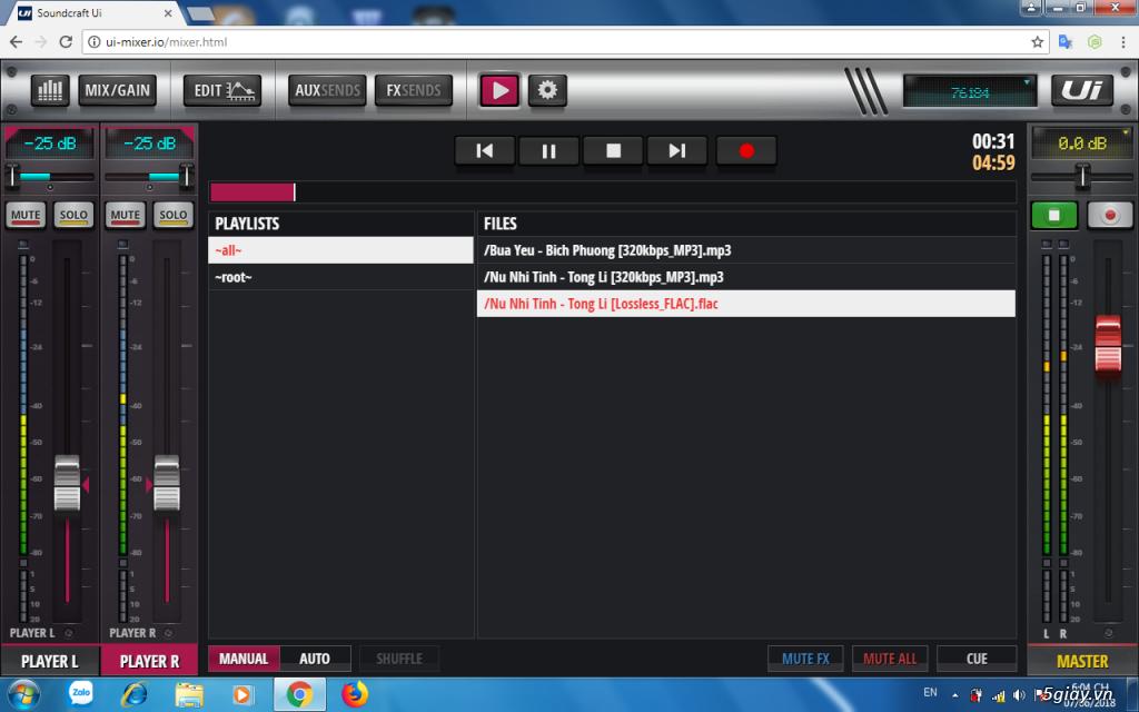 Ca hay hát nhẹ cùng mixer số Soundcraft UI 12 - 21