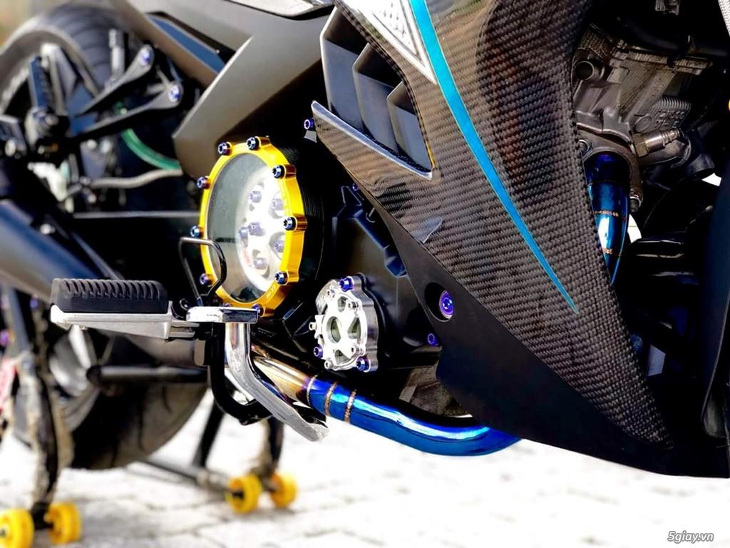 Yamaha Exciter 150 với dàn áo carbon đẹp mắt - 5