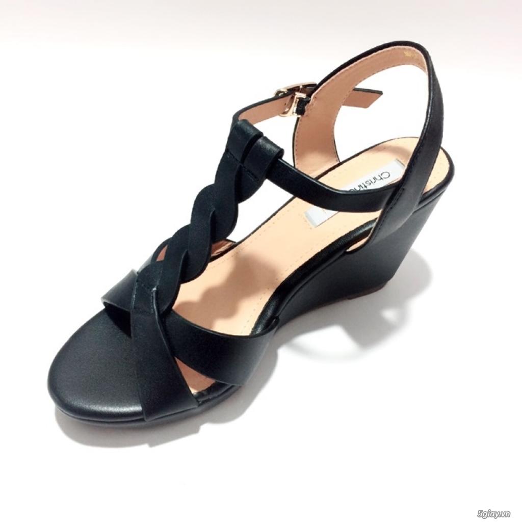 Giày sandals đế xuồng cao 8cm, mẫu thiết kế xinh xắn dễ thương - 2