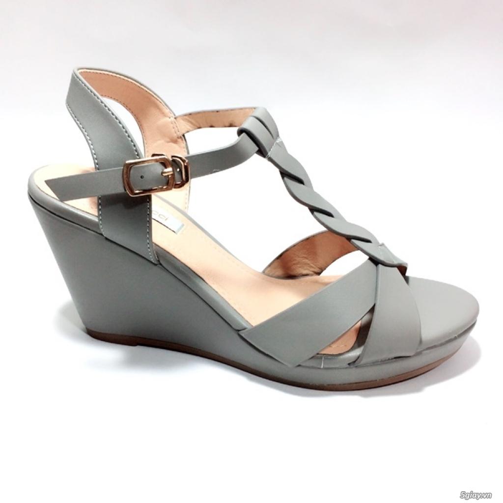 Giày sandals đế xuồng cao 8cm, mẫu thiết kế xinh xắn dễ thương - 3