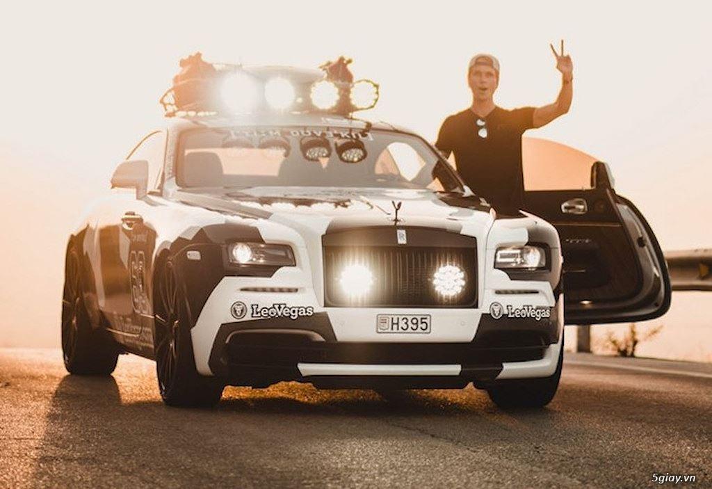 Rolls-Royce Wraith độ offroad chất nhất thế giới - 1