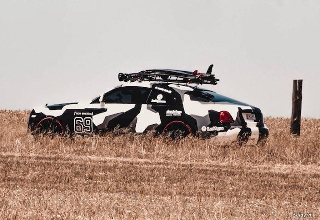Rolls-Royce Wraith độ offroad chất nhất thế giới - 4