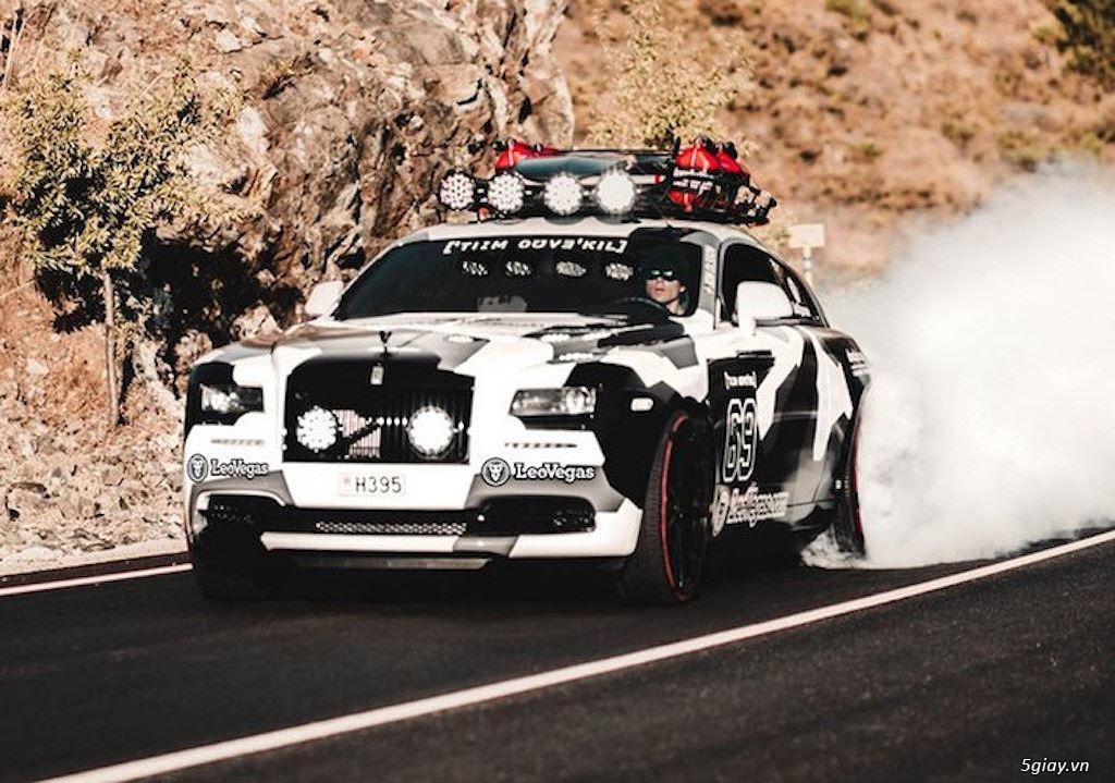 Rolls-Royce Wraith độ offroad chất nhất thế giới - 6