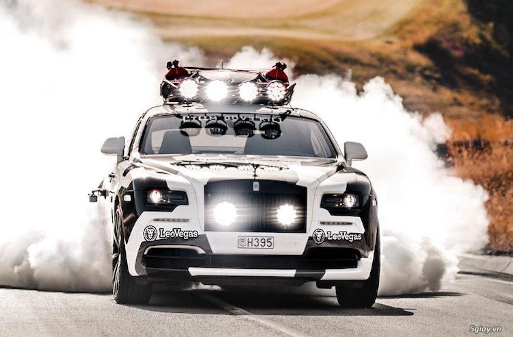 Rolls-Royce Wraith độ offroad chất nhất thế giới - 7