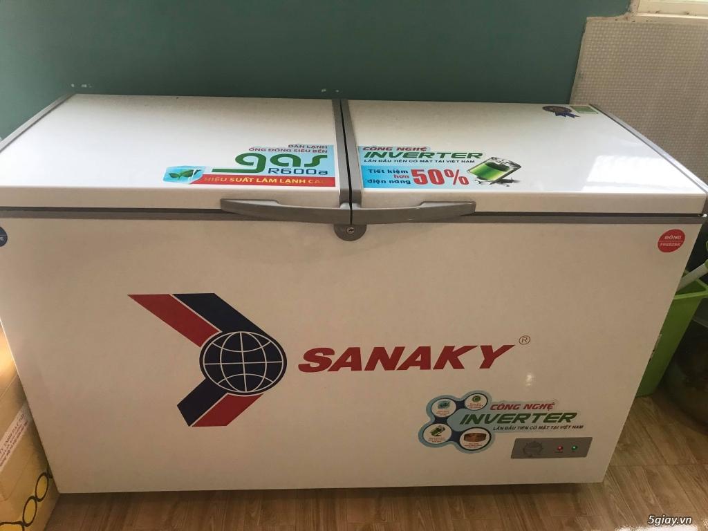 Tủ đông Sanaky VH-4099W3, dung tích tổng 400L - TP.Hồ Chí Minh - Five.vn