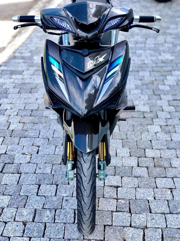 Yamaha Exciter 150 với dàn áo carbon đẹp mắt - 1