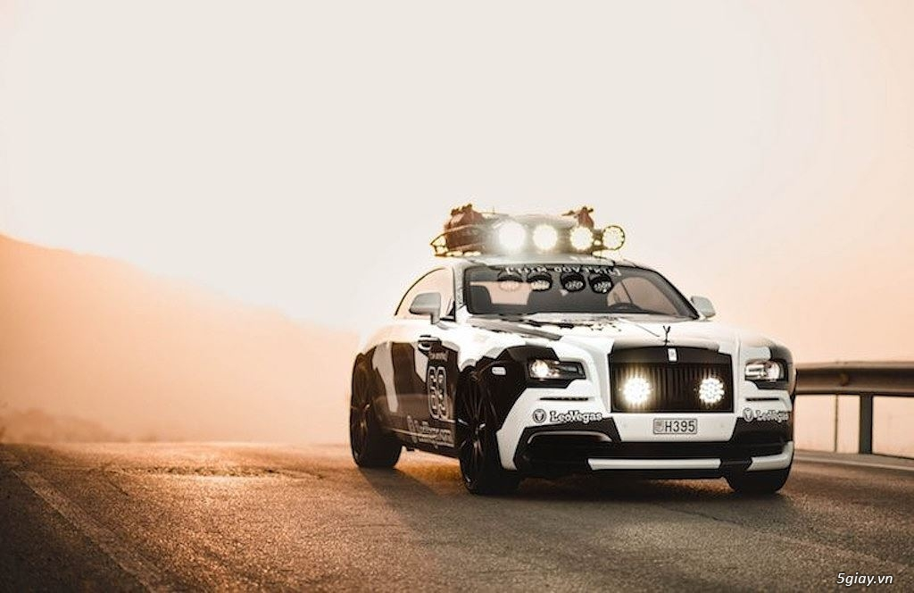 Rolls-Royce Wraith độ offroad chất nhất thế giới - 2