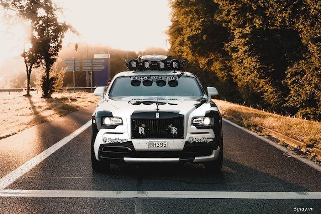 Rolls-Royce Wraith độ offroad chất nhất thế giới - 3