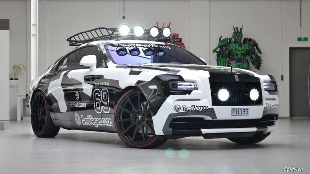 Rolls-Royce Wraith độ offroad chất nhất thế giới
