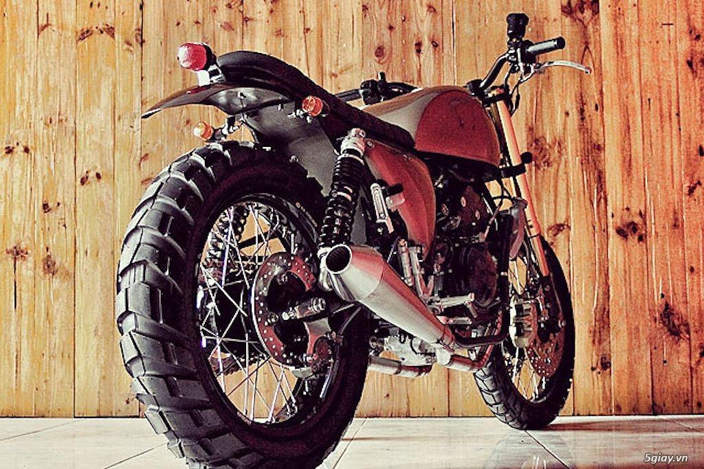 Yamaha R25 lột xác thành scrambler - 7