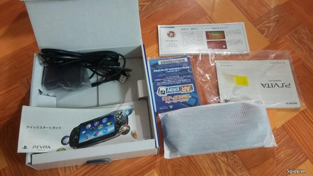 Cần bán: PS vita 1100. fw 3.60 đã hack (máy nhật) - 2
