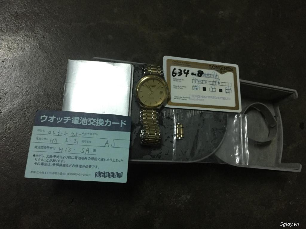Đồng hồ Longines (size 30 dành cho nữ)