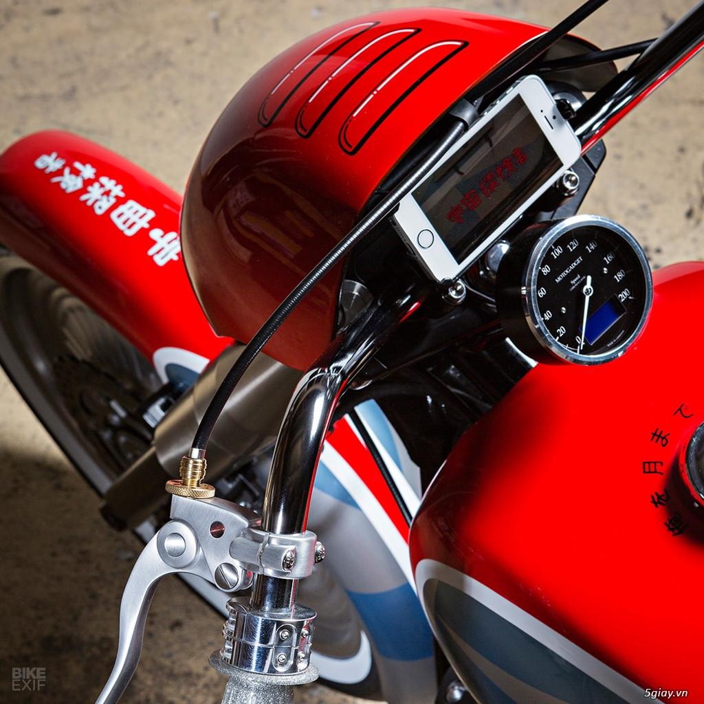 Yamaha XV950R độ theo phong cách Sonicon Rocket - 5