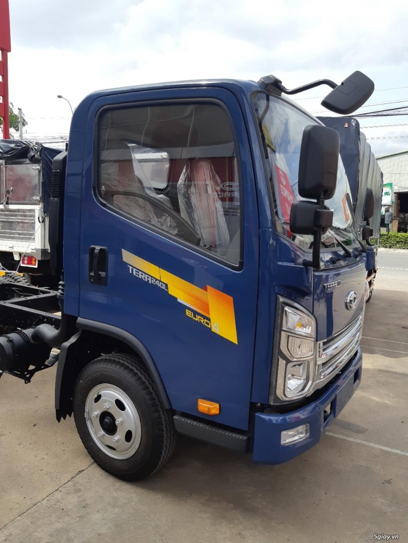 Nơi bán xe tải thùng mui bạt 2,5 tấn Tera240L
