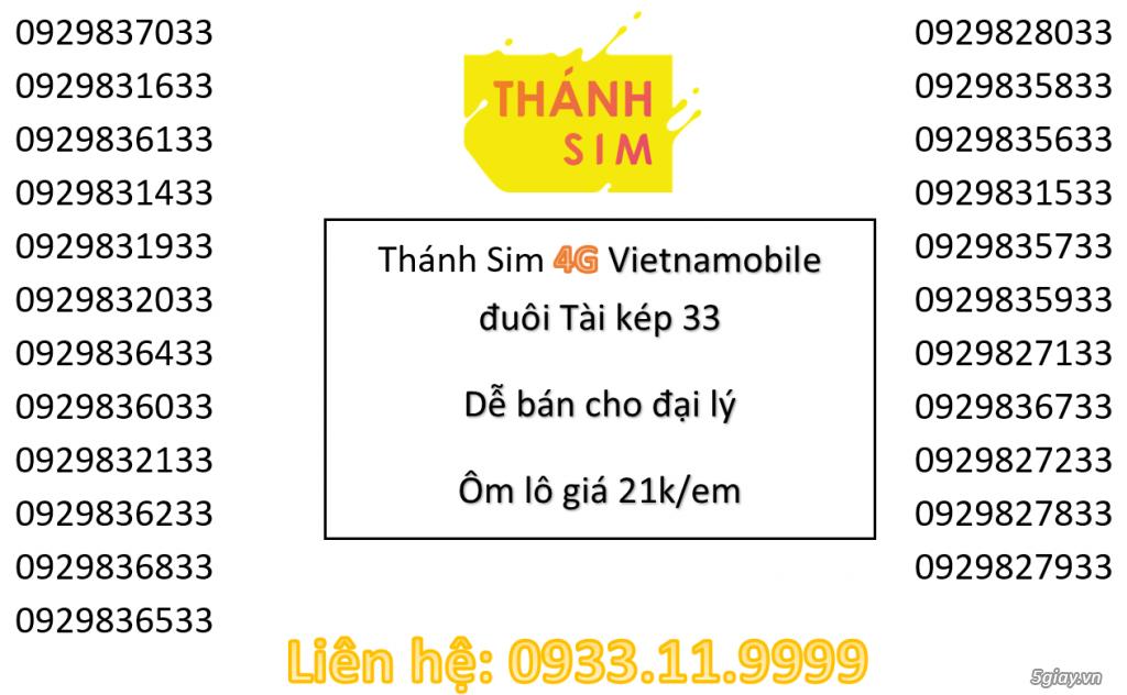 Lô Thánh Sim 4G đuôi tài lộc cực dễ bán cho đại lý