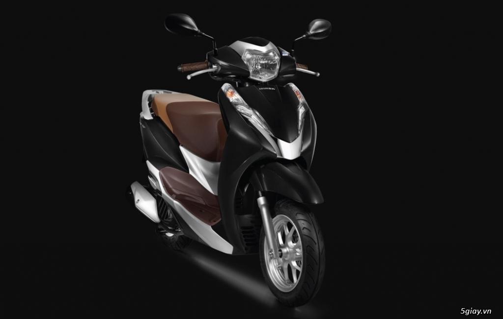 Ra mắt Honda Lead màu đen mờ phiên bản kỷ niệm 10 năm - 1
