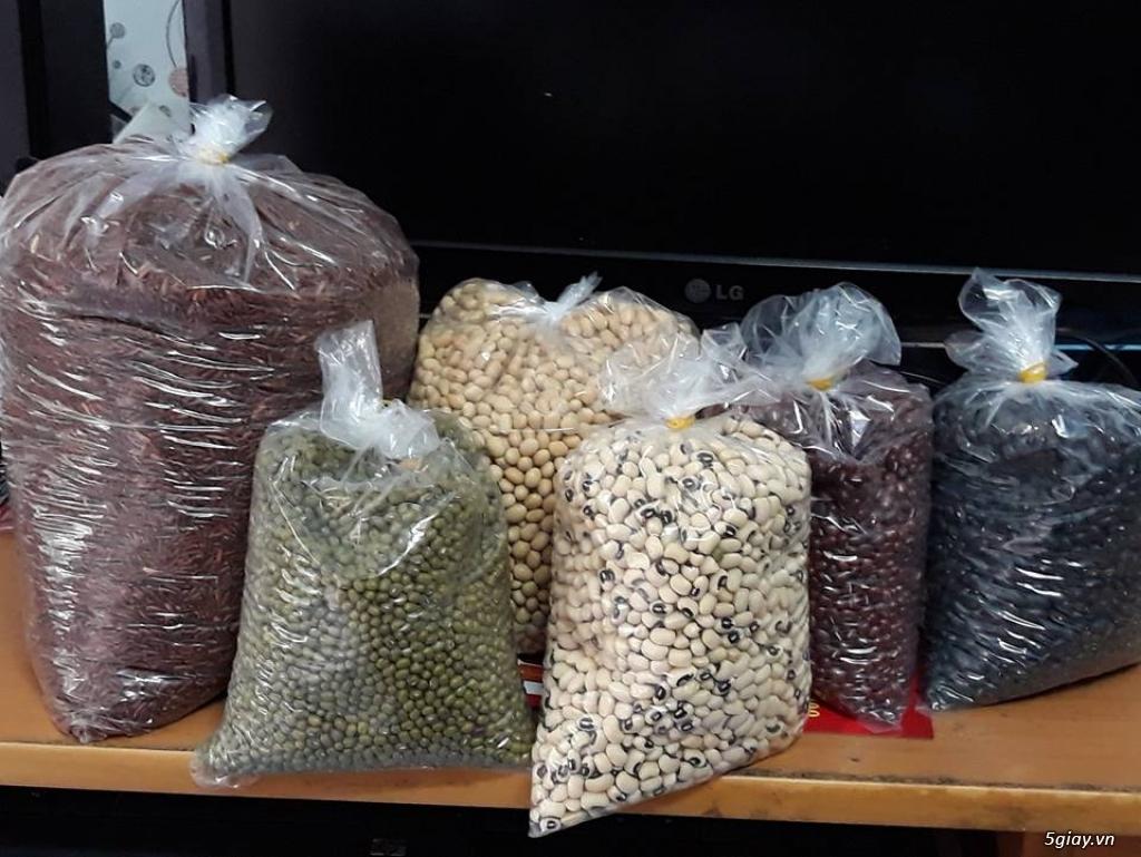 Bán bột gạo lứt huyết rồng trộn cùng 5 loại đậu khác nhau