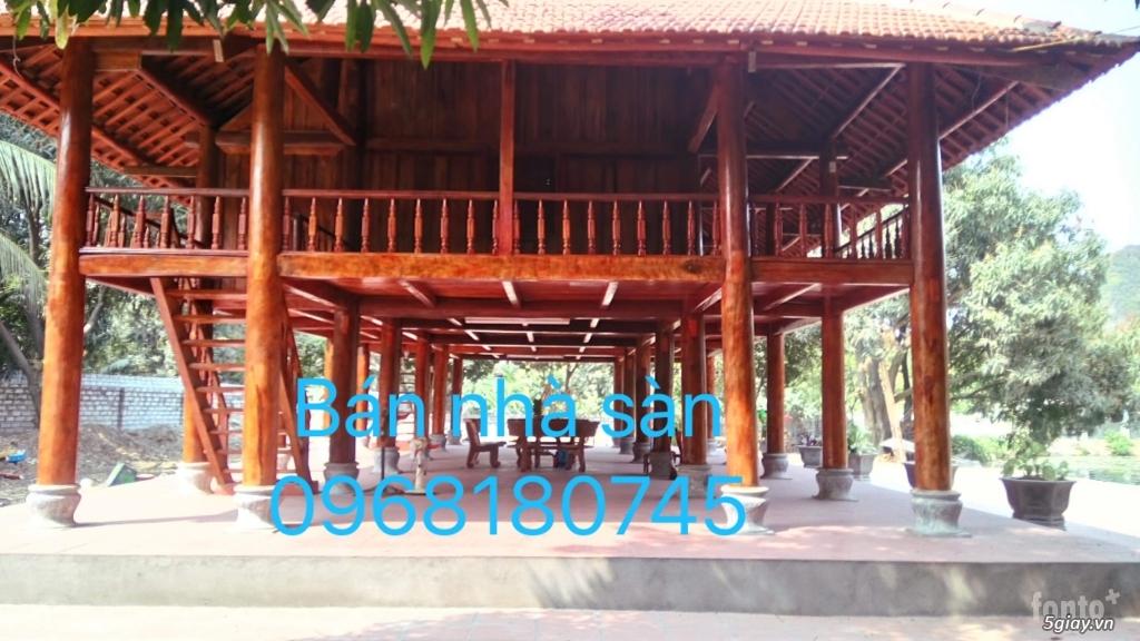Bán nhà sàn, giá rẻ. ban nha san  0968180745