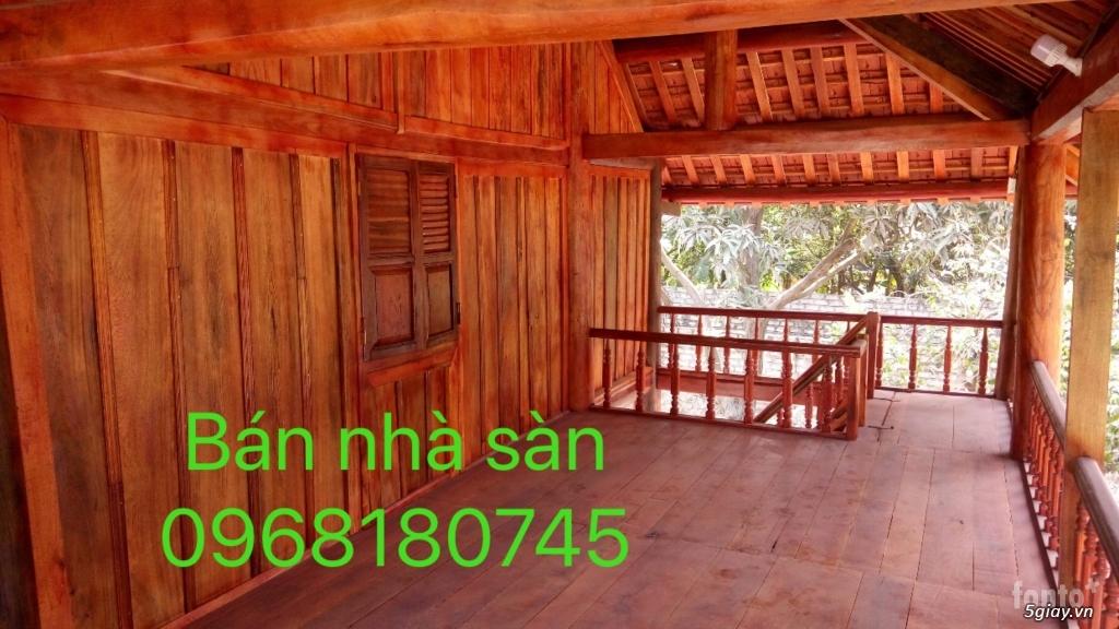 Bán nhà sàn, giá rẻ. ban nha san  0968180745 - 2