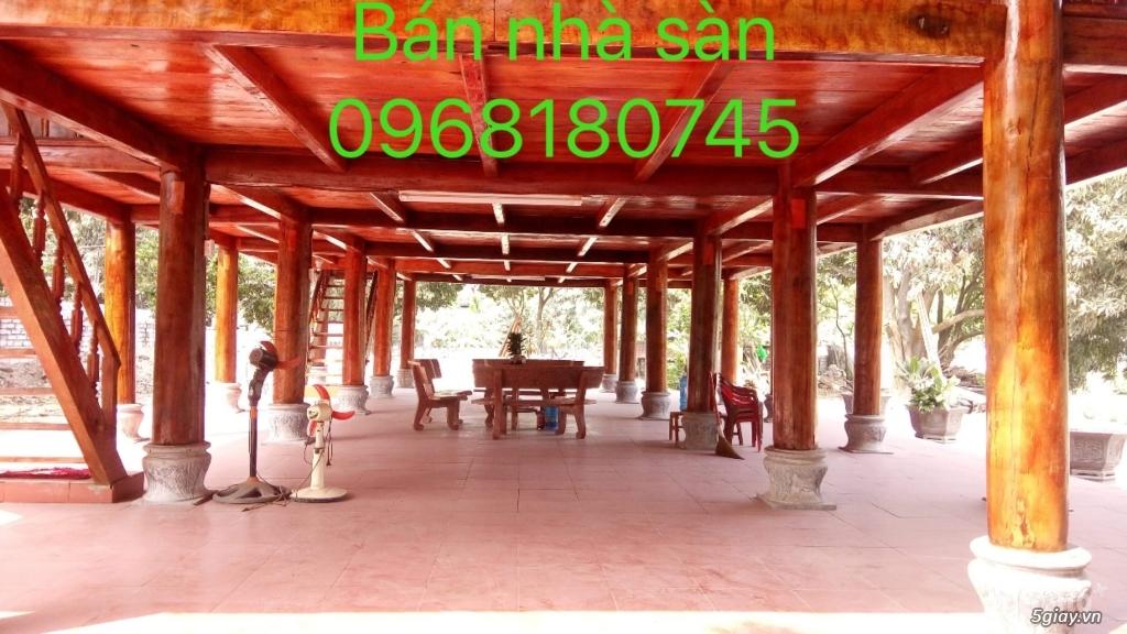 Bán nhà sàn, giá rẻ. ban nha san  0968180745 - 1