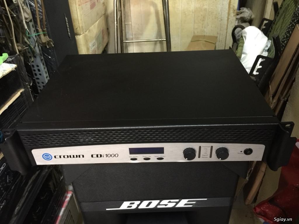 Karaoke chuyên nghiệp main crest audio USA âm thanh đỉnh cao Mỹ, pwer crown bose onseire ....giá tốt