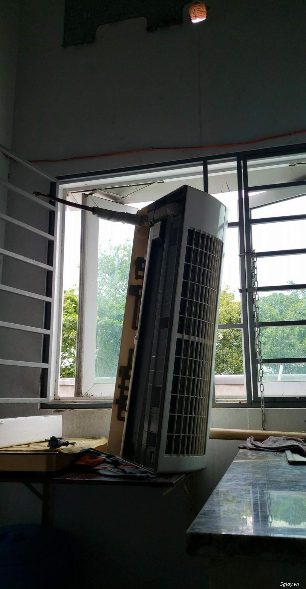 Vệ sinh sửa chữa máy điều hòa quận Tân Phú - 1