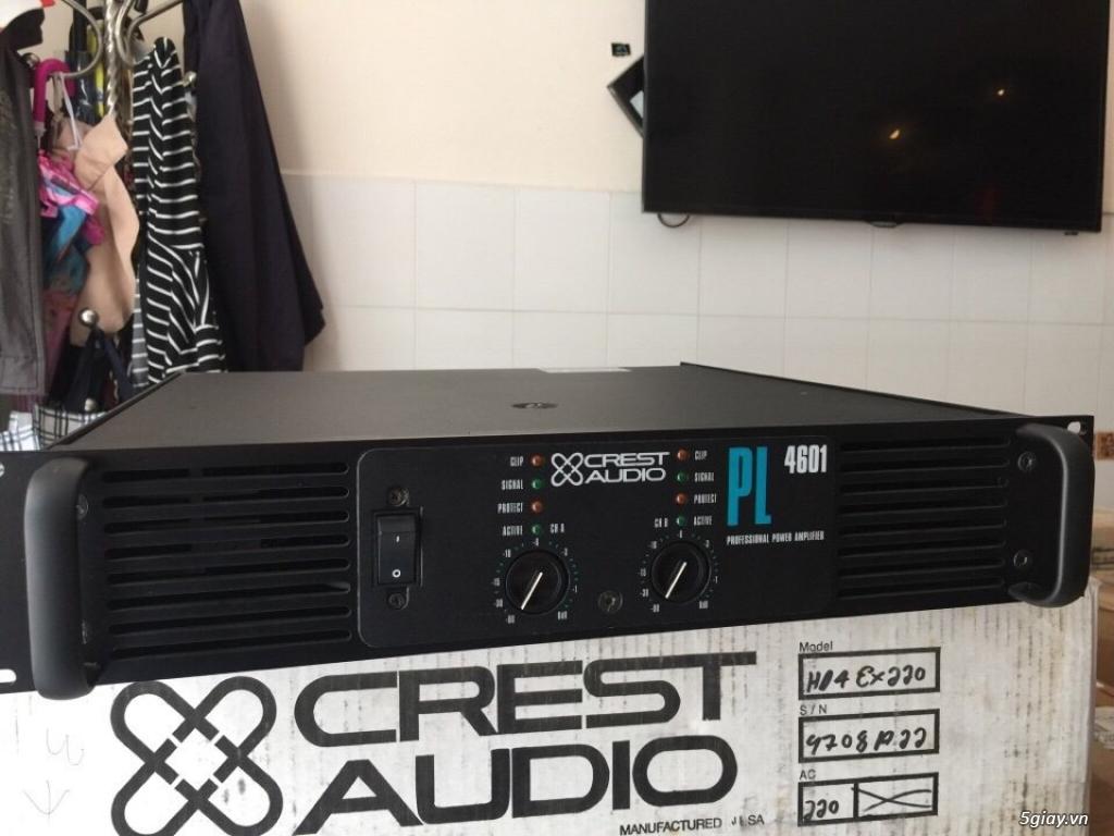 Karaoke chuyên nghiệp main crest audio USA âm thanh đỉnh cao Mỹ, pwer crown bose onseire ....giá tốt - 5