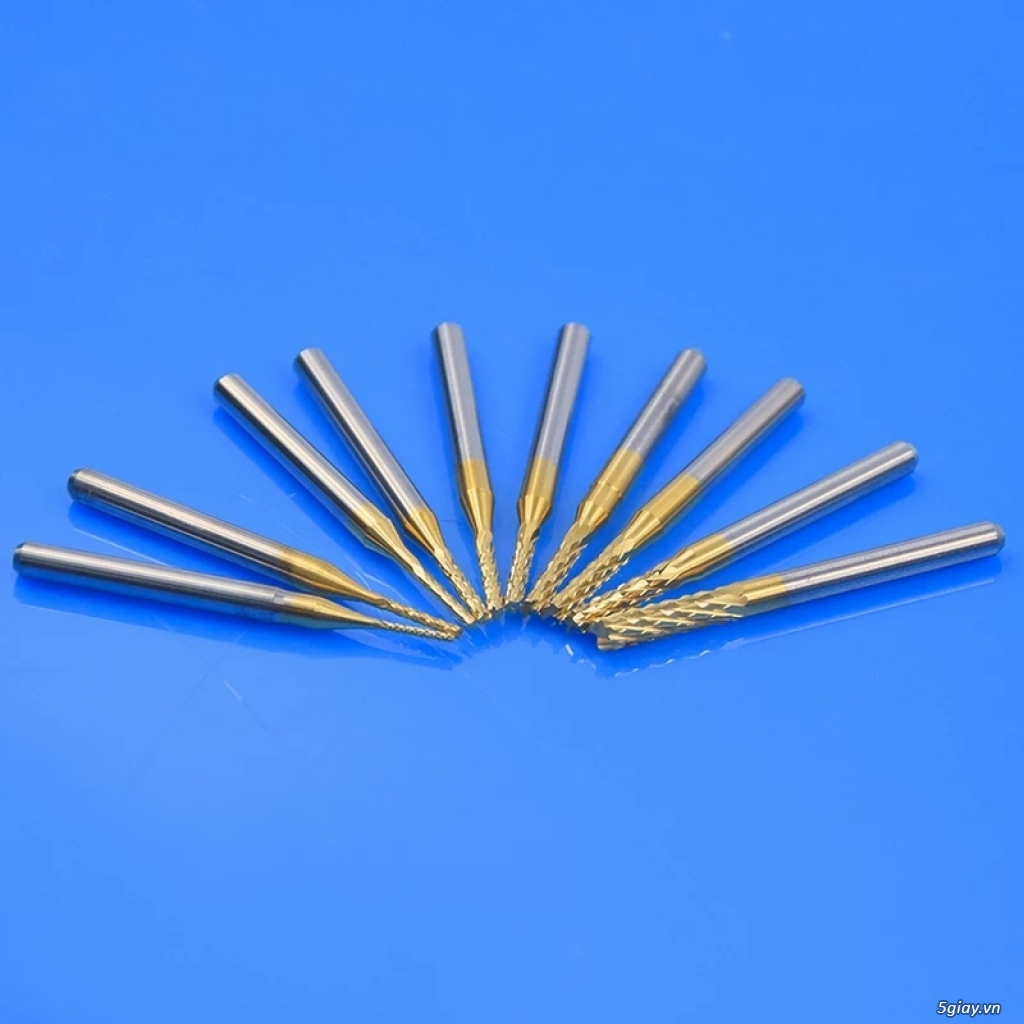 Mũi khoan, cắt, phay titanium CNC cho các bác DIY - 3
