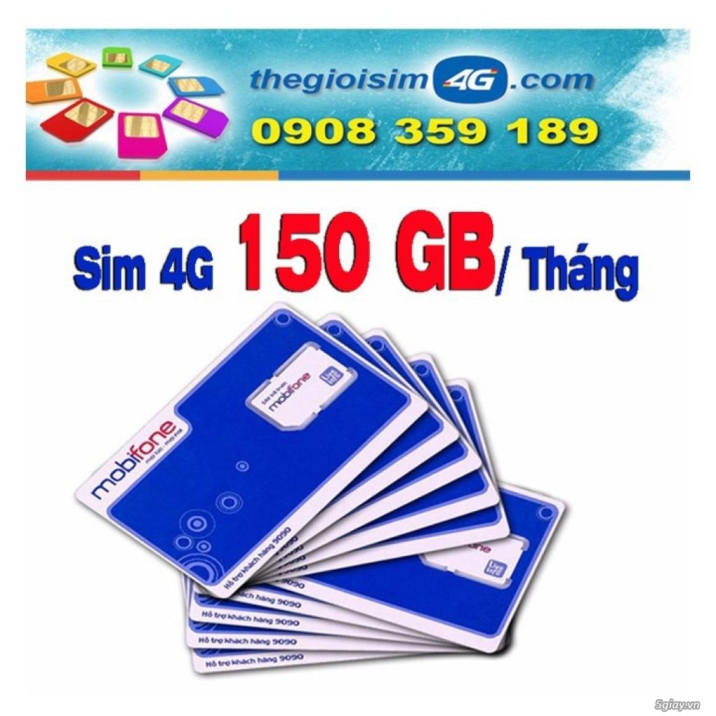 SIM 4G MOBIFONE TẶNG 150GB/THÁNG - TGS4G-150GB - 59K/Sim - 2