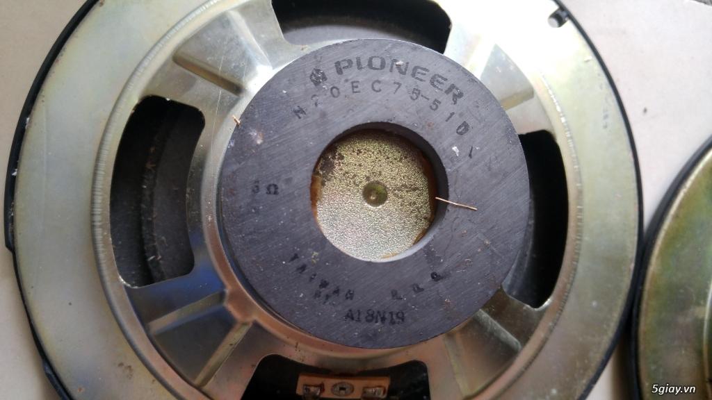 cap loa pioner 20cm.rã thùng mục.zin 100/100 - 1