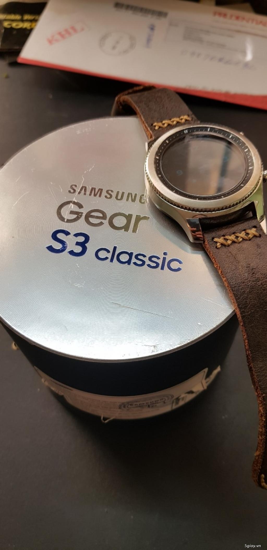 Cần ra đi samsung gear s3 classic - 1