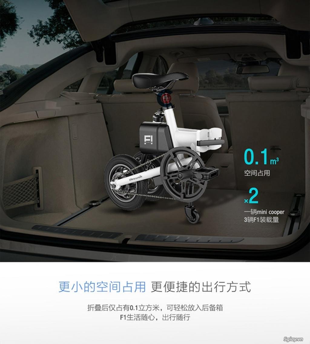 Xe đạp điện ideawalk F1 thông minh - 3