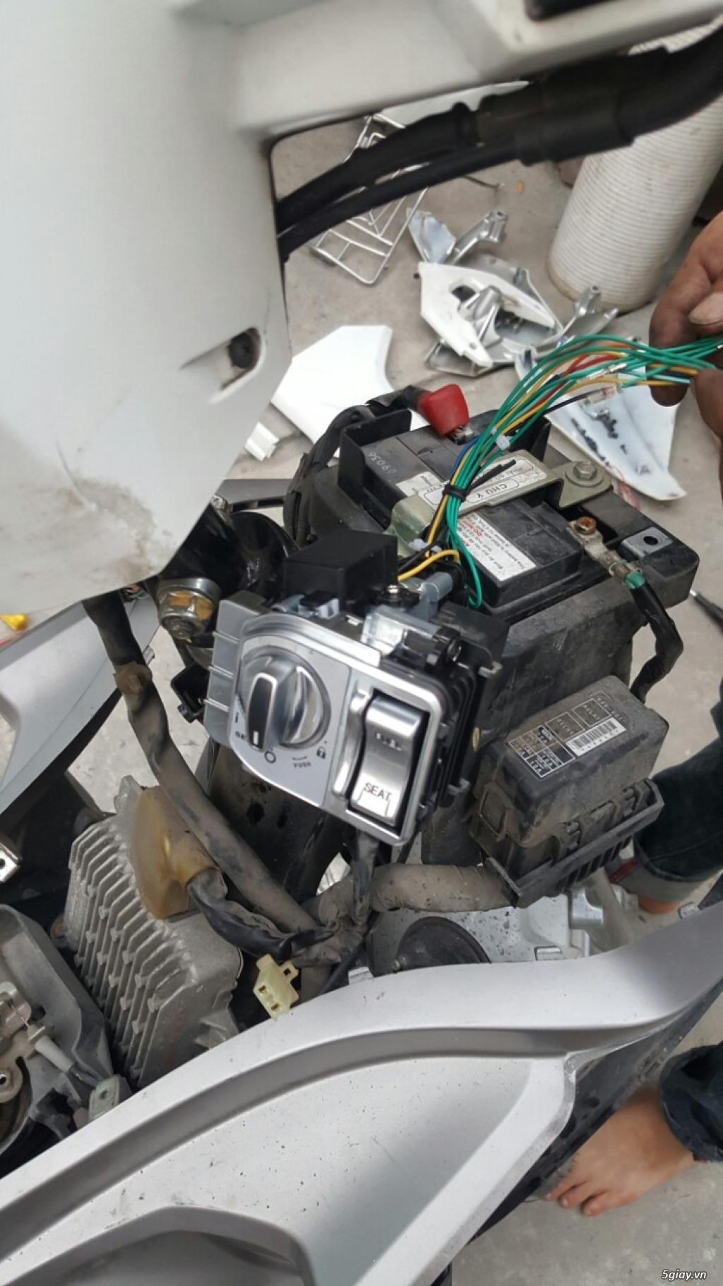 Khóa chống trộm Smartkey Honda Yamaha - 6