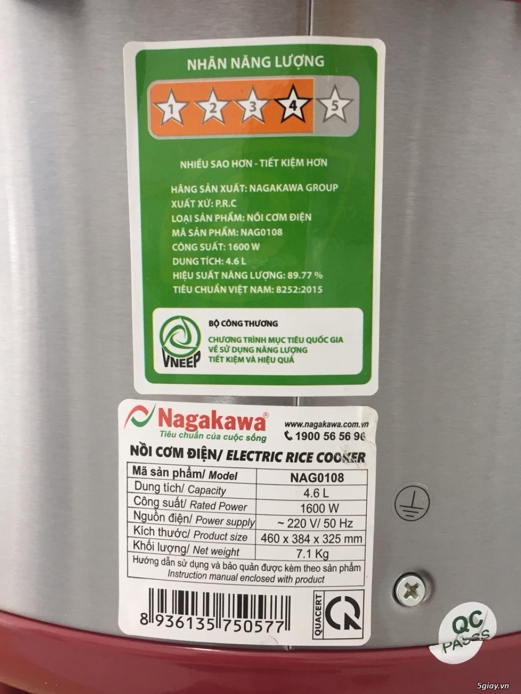 Nồi cơm cơ Nagakawa NAG0108 - 4