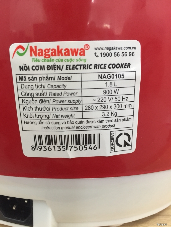 Nồi cơm cơ Nagakawa NAG0105 - 2