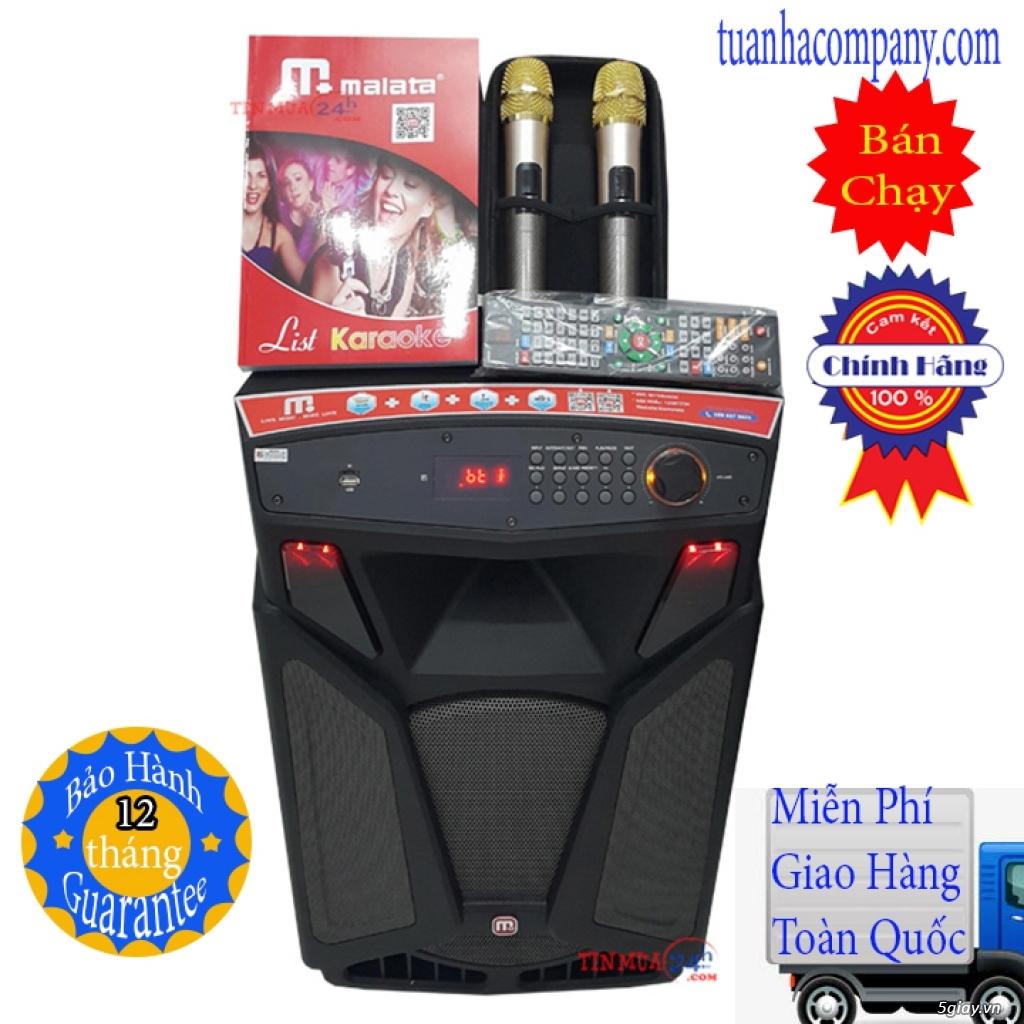 Loa kéo di động tích hợp karaoke 5 số phát wifi