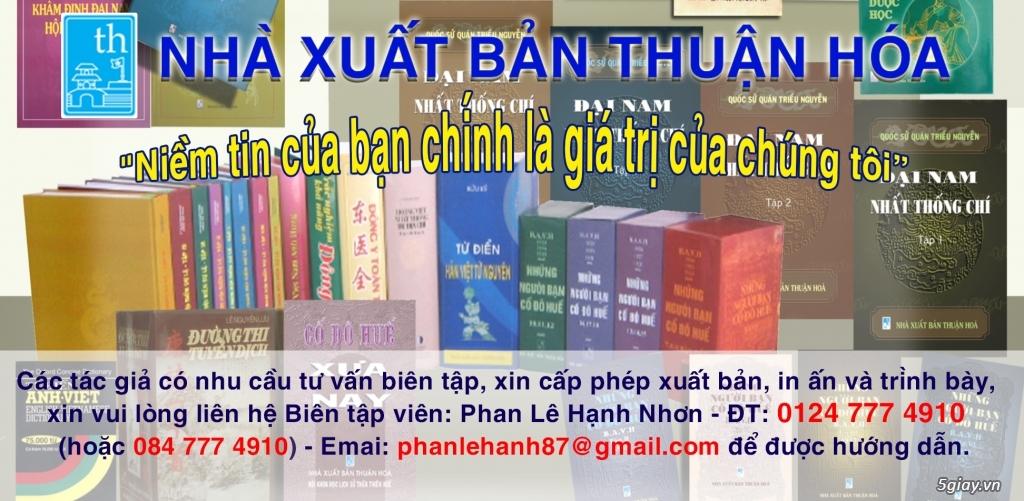 Nhà xuất bản Thuận Hóa - Tư vấn in ấn, xuất bản