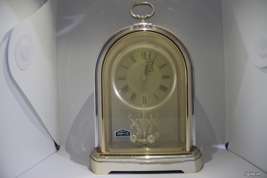 Đồng hồ để bàn hàng Nhật second hand