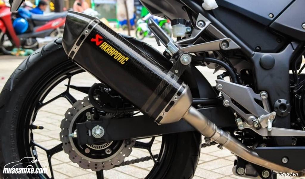 Đánh giá xe Kawasaki Z300 ABS 2017 - 10