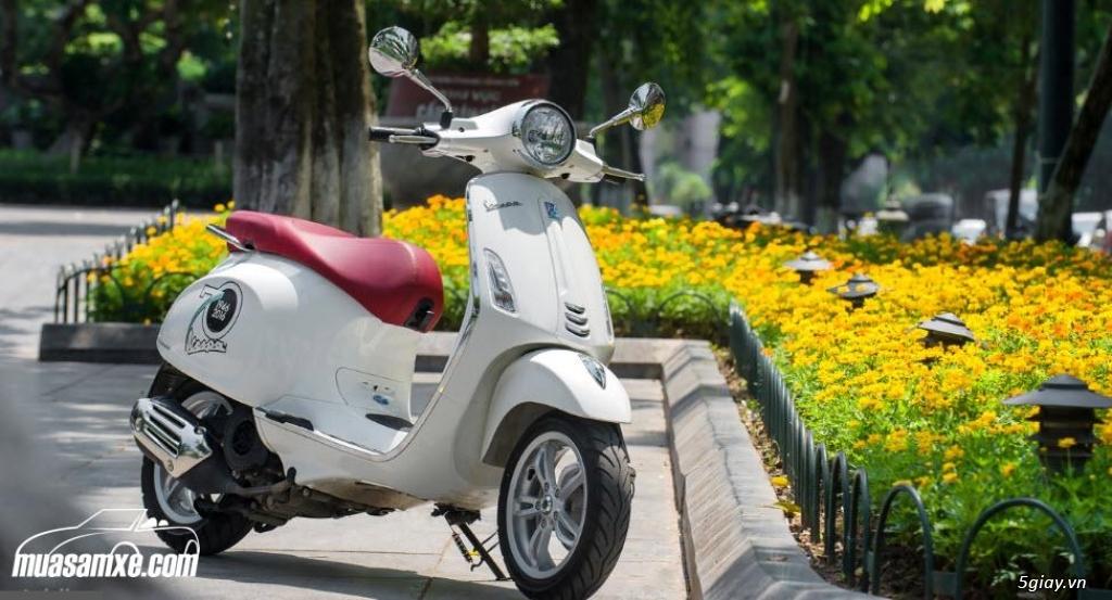 Đánh giá xe Vespa Primavera 2018