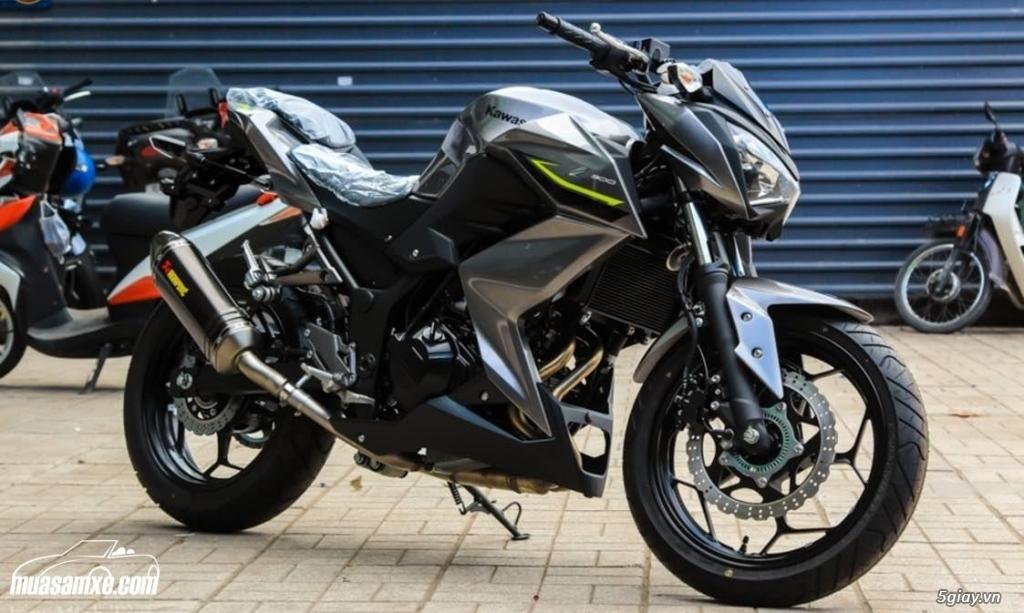 Đánh giá xe Kawasaki Z300 ABS 2017 - 12