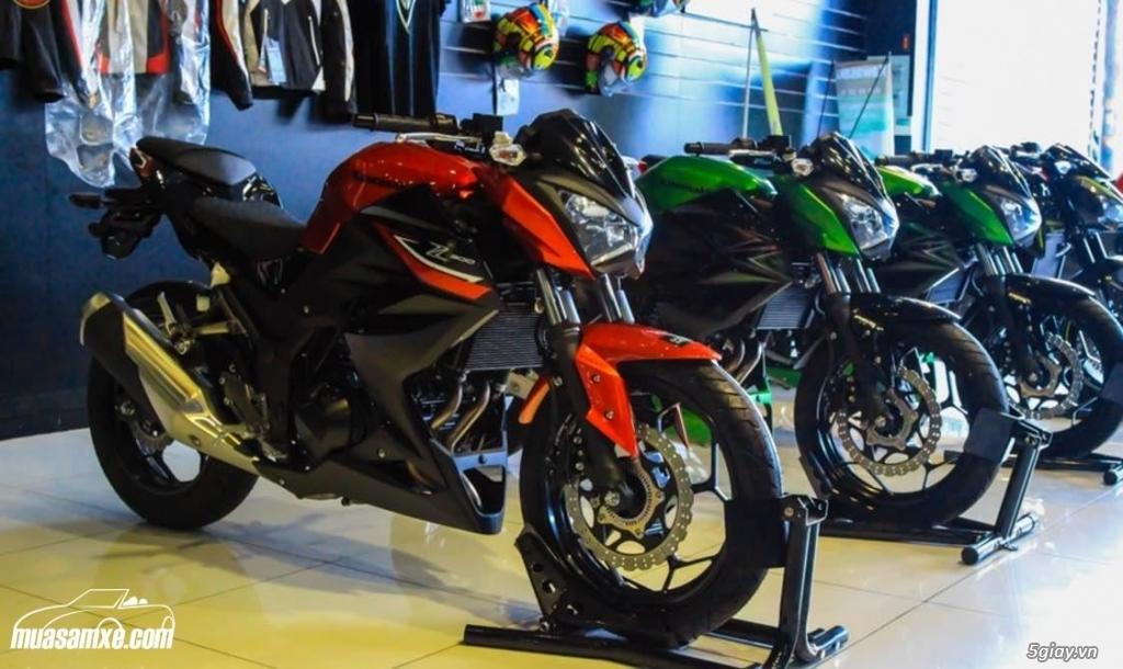 Đánh giá xe Kawasaki Z300 ABS 2017 - 1