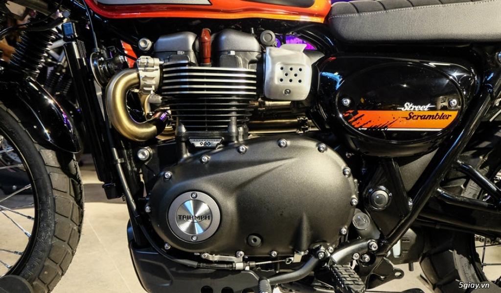 Đánh giá xe Triumph Street Scrambler 2018 - 3
