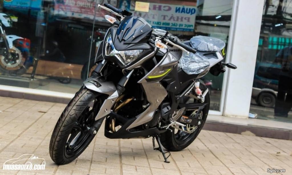 Đánh giá xe Kawasaki Z300 ABS 2017