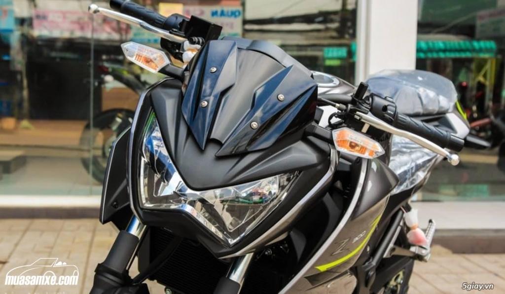 Đánh giá xe Kawasaki Z300 ABS 2017 - 2