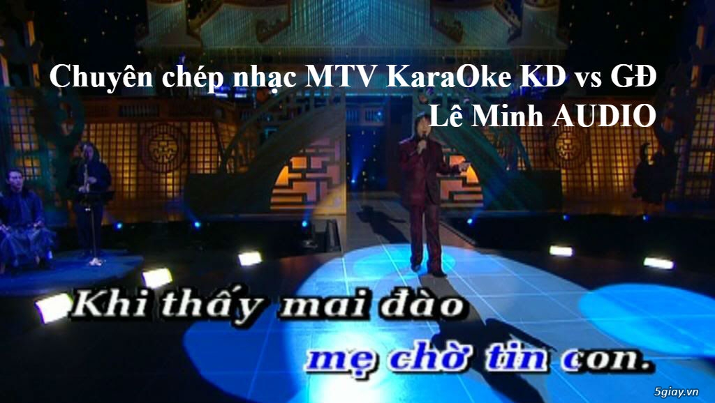 Dịch vụ Chép nhạc MTV KaraOke - 10