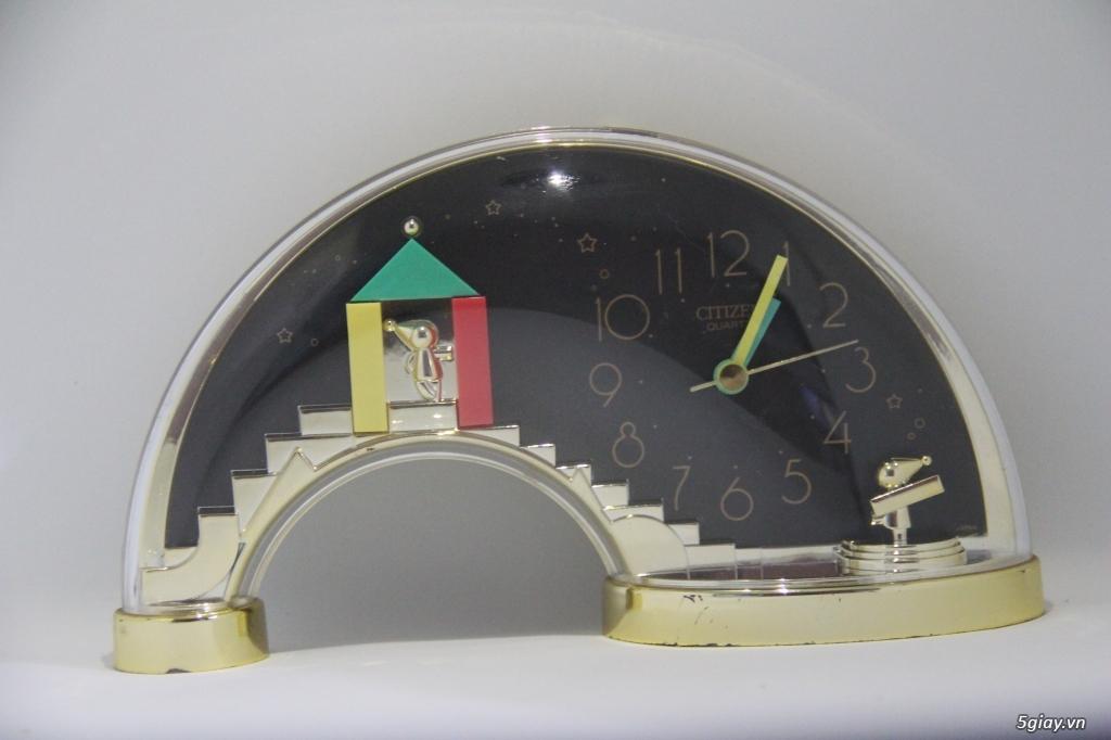 Đồng hồ để bàn hàng Nhật second hand - 4