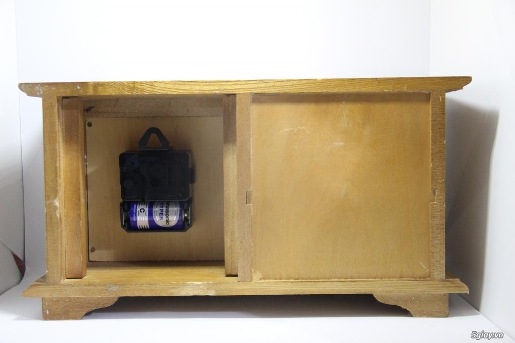 Đồng hồ để bàn hàng Nhật second hand - 16