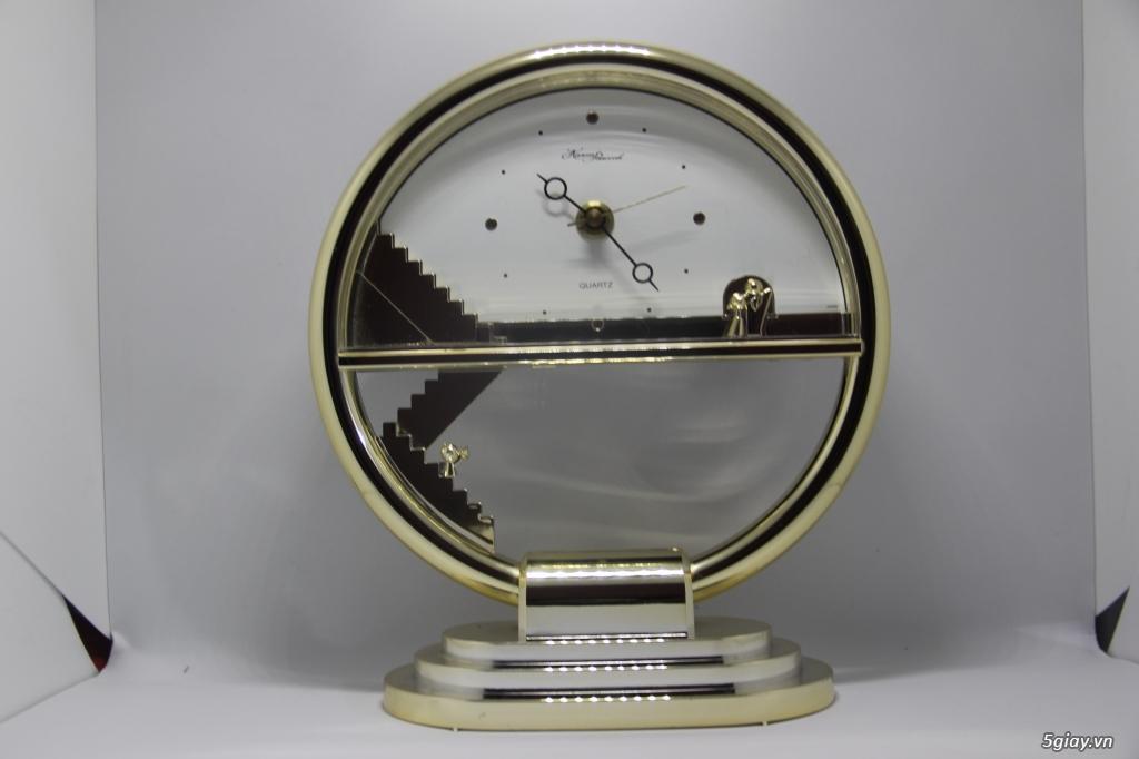 Đồng hồ để bàn hàng Nhật second hand - 6