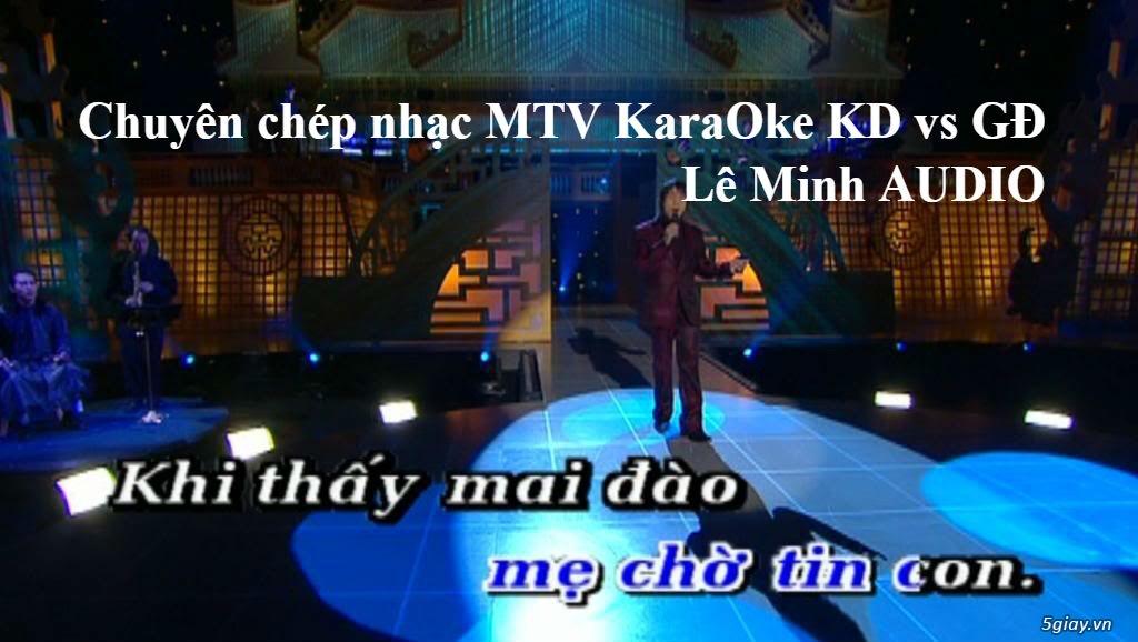 Dịch vụ chép nhạc KaraOke MTV - 4
